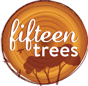 Image of Fifteen Trees logo