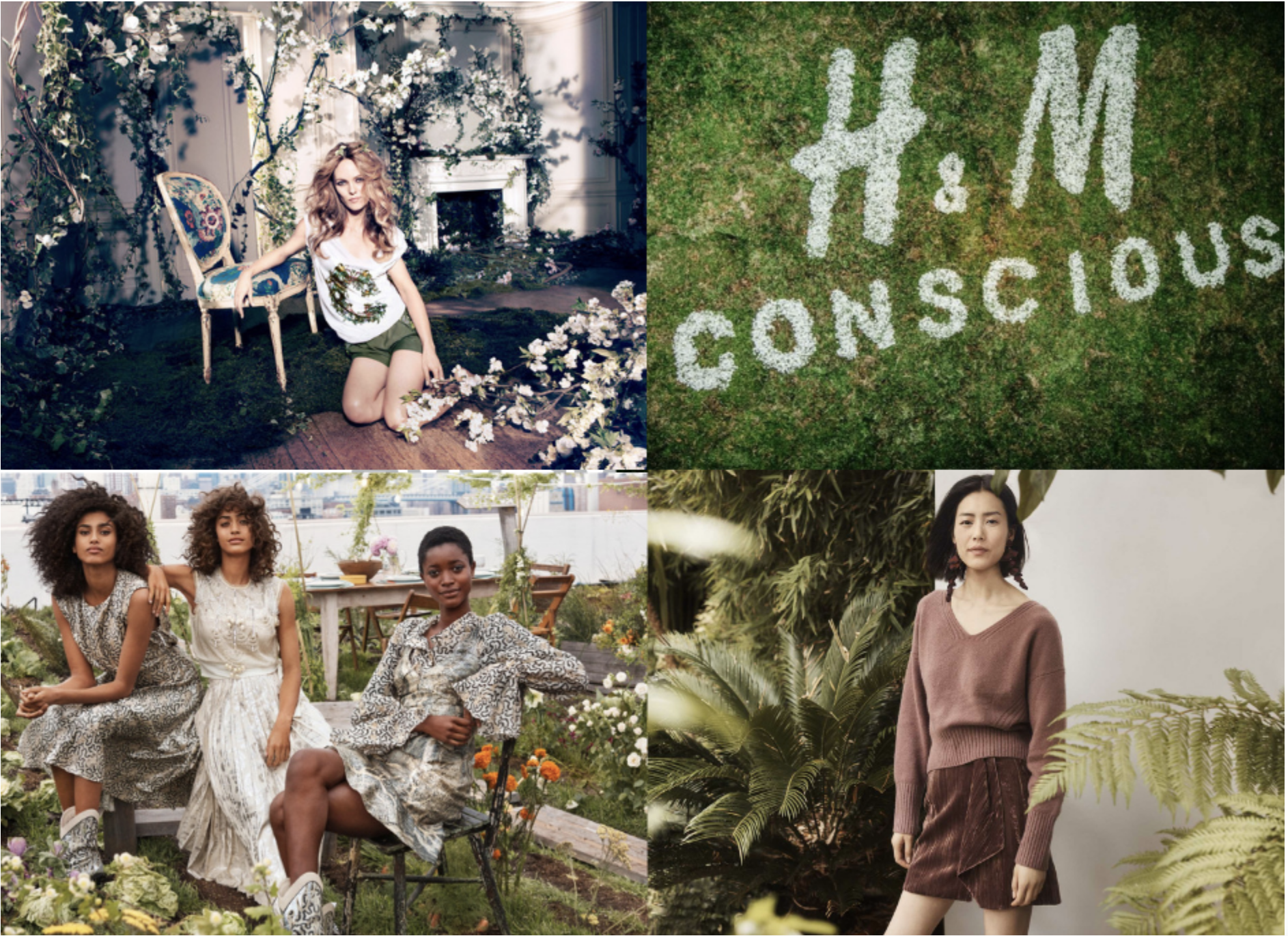 H&M Conscious marketing image 2019 from: https://medium.com/