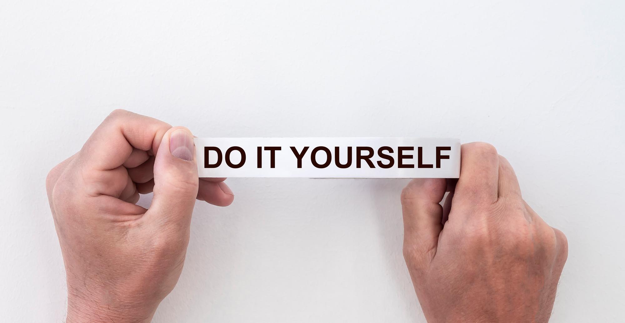 Do it yourself - iStock image