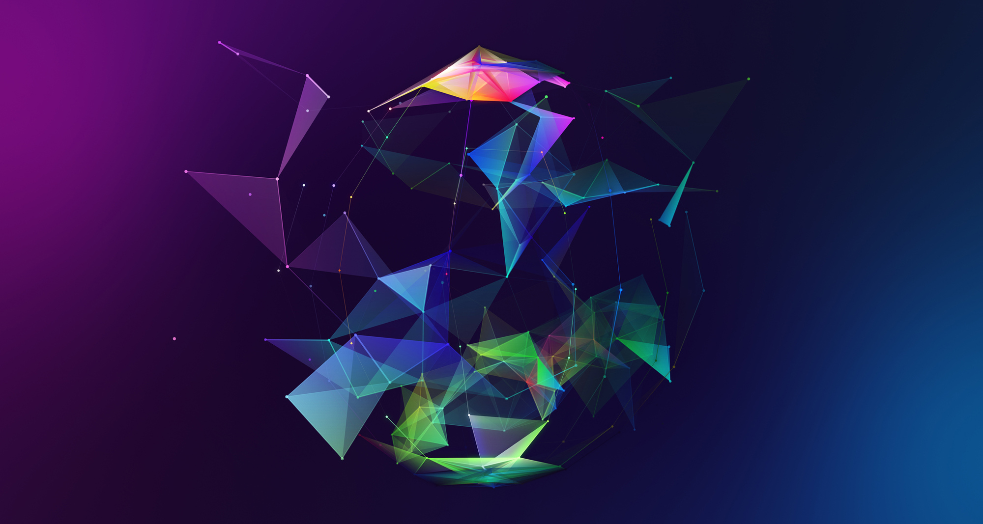 Abstract image of shapes - iStock image